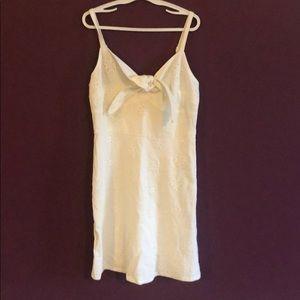 Hollister-XS white dress